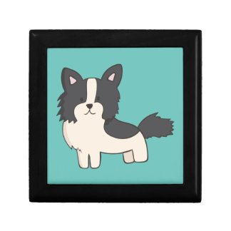 Black and White Dog Gift Box