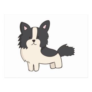 Black and White Dog Postcard