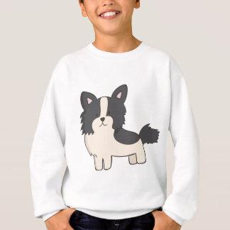 Black and White Dog Sweatshirt