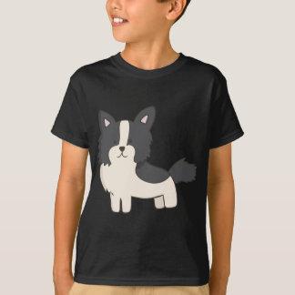 Black and White Dog T-Shirt