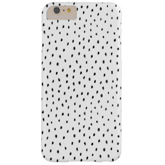 Black and White Doodle Spot Phone Case