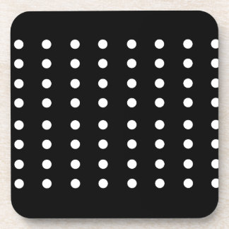 Black and white Dots / Vintage edition Coaster