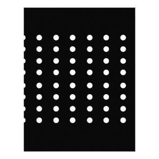 Black and white Dots / Vintage edition Letterhead
