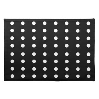 Black and white Dots / Vintage edition Placemat
