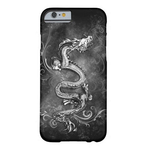 black and white dragon case iPhone 6 case
