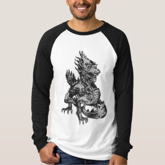 Black and white dragon T-Shirt