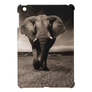 Black And White Elephant iPad Mini Cover