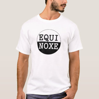 black and white equinox T-Shirt