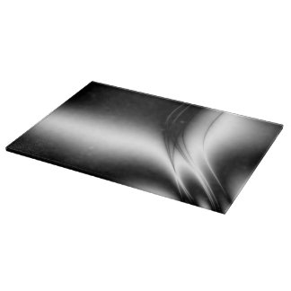 Black and White Estuary Glass Cutting Board