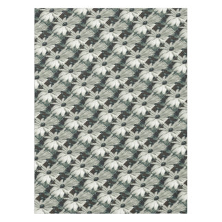 Black and White - Eyed Susan Tablecloth