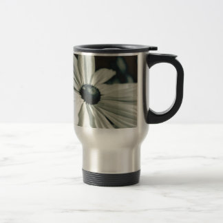 Black and White - Eyed Susan Travel Mug