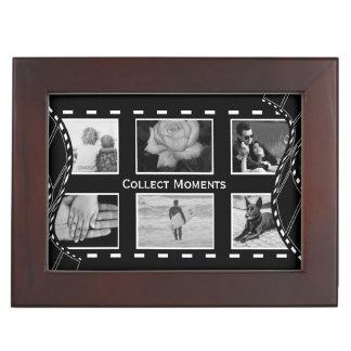 Black and White Film Reel Memory Box