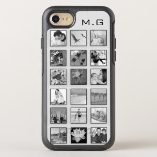 Black and White Filtered Photo Collage OtterBox Symmetry iPhone 8/7 Case