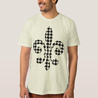 black and white fleur de lis T-Shirt