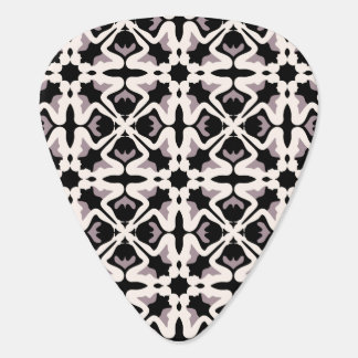Black and white floreal pattern pick