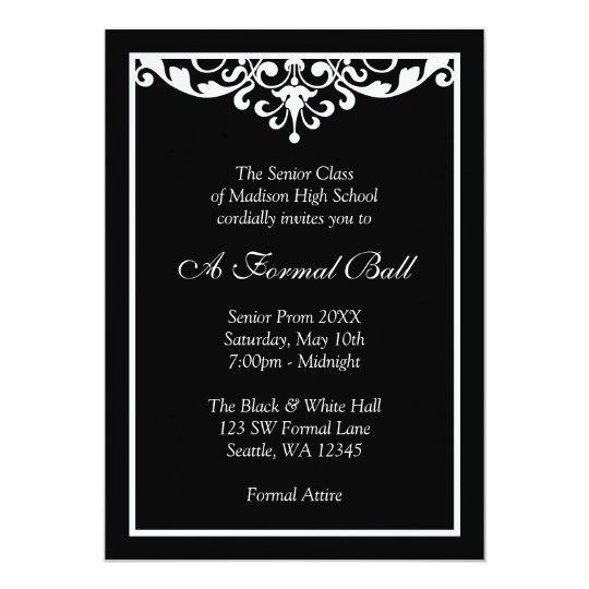 High School Prom Invitations  Announcements  Zazzle Canada