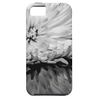 Black and White Flower Photo Cover For iPhone 5/5S
