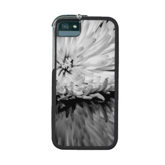 Black and White Flower Photo iPhone 5 Cover