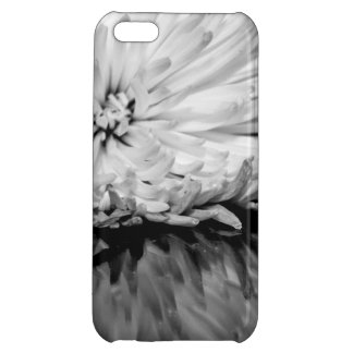 Black and White Flower Photo Case For iPhone 5C