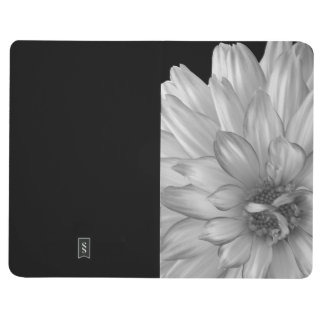 Black and White Flower Pocket Notebook