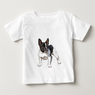 BLACK AND WHITE FRENCH BULLDOG BABY T-Shirt