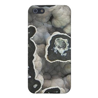 Black and White Geode iPhone 5 Cover