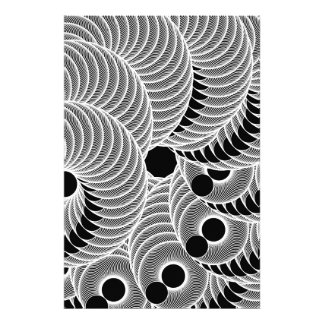 Black and White geometric abstract figure Photographic Print