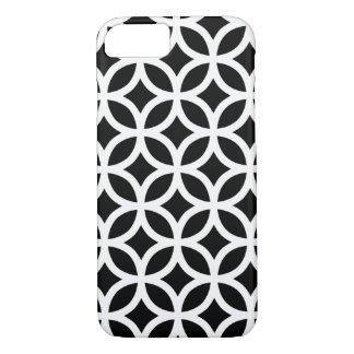 Black and White Geometric iPhone 7 Case