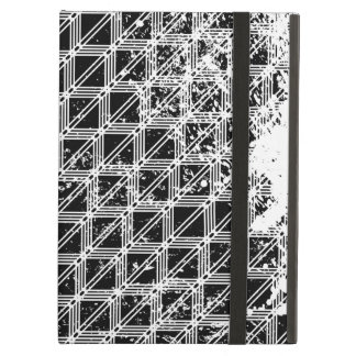 Black And White Geometric Pattern iPad Air Cover