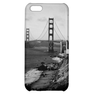 Black and White Golden Gate Bridge Photo Case For iPhone 5C
