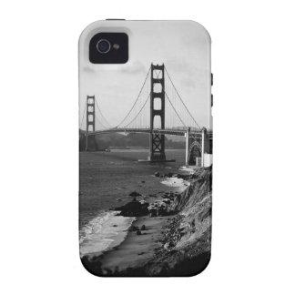 Black and White Golden Gate Bridge Photo iPhone 4 Cover