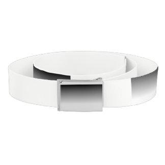 black and white gradient belt