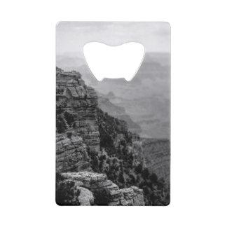 Black and White Grand Canyon Bottle Opener Wallet Bottle Opener