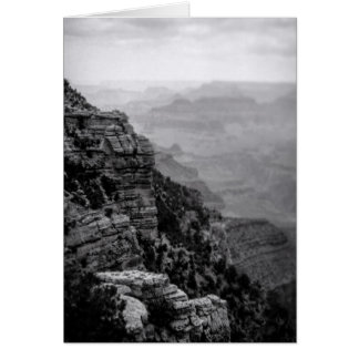 Black and White Grand Canyon Father's Day Card