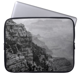 Black and White Grand Canyon Laptop Sleeve