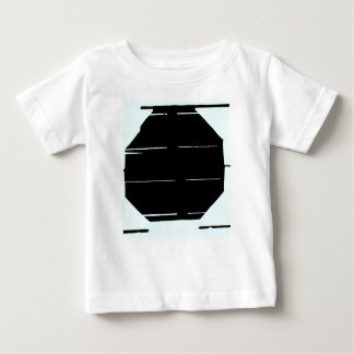 Black and White Graphic T-Shirt For Baby