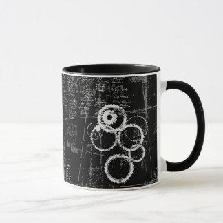 Black and White Grunge Combo Mug