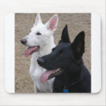 Black and White GSD Mouse Mats