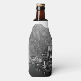 Black and White Hallstatt Bottle Cooler