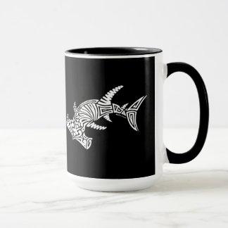 Black and White Hammerhead Mug