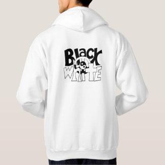 Black and White Harmony Hoodie
