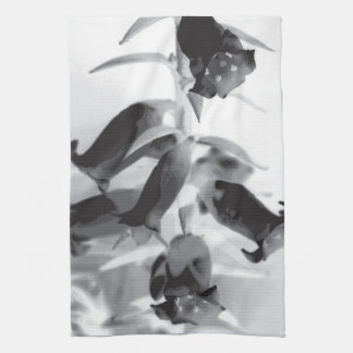 Black and White Heath Towel
