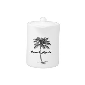 Black and White Hialeah & Palm design