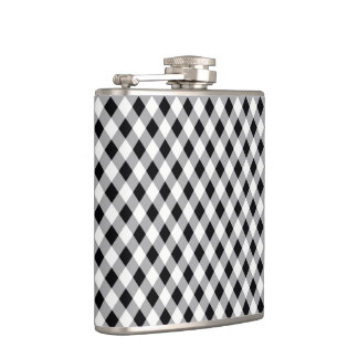 Black-and-white Hip Flask