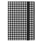Black and White Houndstooth iPad Mini Case