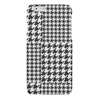 Black and White Houndstooth iPhone 6/6s matte case