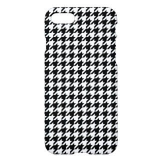 Black and White Houndstooth iPhone 7 Case