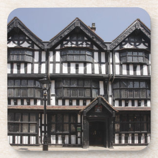 Black and White house in Hereford souvenir photo Coaster
