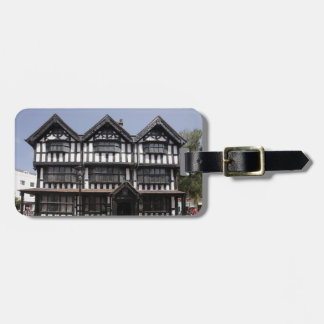 Black and White house in Hereford souvenir photo Luggage Tag