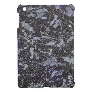 Black and White Ink on Purple Background iPad Mini Case